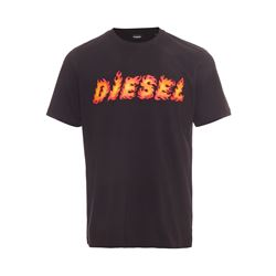 Diesel  Flame logo tee from Bicester Village