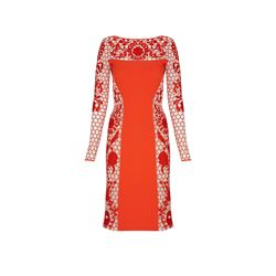 Temperley London womens Marsha Fitted Dress
