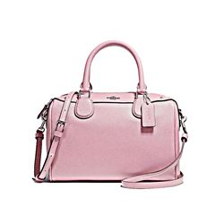 Mini Bennet Satchel rosa Coach