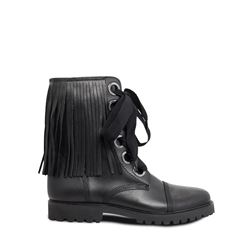 Zadig & Voltaire, Black Joe fringed boots