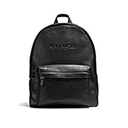 Charles backpack sports in black by Coach at Wertheim Village