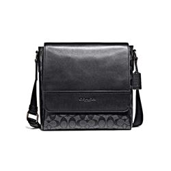 Coach Men's Houston map bag in signature