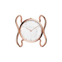 Fossil rose gold bangle watch