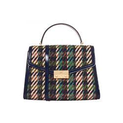 Tory Burch  Juliette tweed satchel from Bicester Village