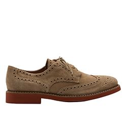 Scalpers - Brown leather shoes