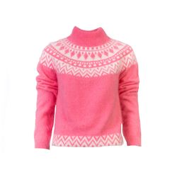 Pink and Cream Jumper