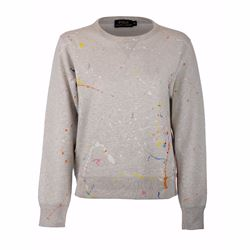 Women's crewneck light sport heather sweatshirt
