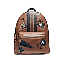 Men's backpack in brown by Coach at Ingolstadt Village
