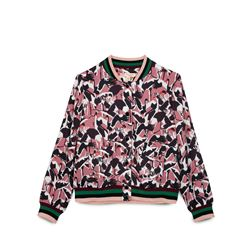 Women's pink bomber jacket
