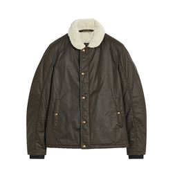 Men's jacket in green by Belstaff at Wertheim Village