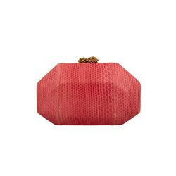 Só Collective Ale Walsh perla pink clutch