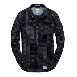 Laundered Cut Collar Shirt