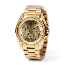 Michael Kors Women's watch in gold by Watch Station at Wertheim Village