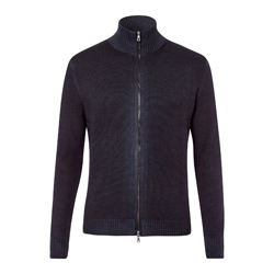 Falke navy zip jacket