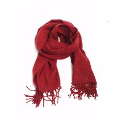 Só Collective Foxford red scarf