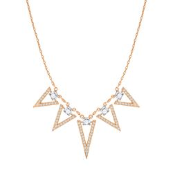 Necklace in gold by Swarovski at Ingolstadt Village