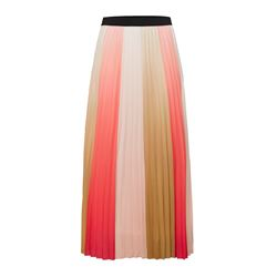 Tricolor striped skirt
