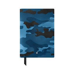 Montblanc Men's Blue Camouflage Notebook