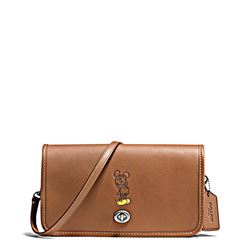 Women's bag 'Mickey Leather Penny Crossbody' in saddle by Coach at Ingolstadt Village