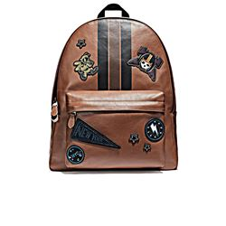 Men's Backpack in brown by Coach at Wertheim Village