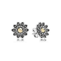 Statement Flower Stud Earrings Pandora