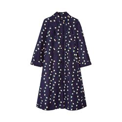 Paul Smith navy Women's daisy-chain coat from Bicester Village