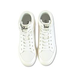Guess White high top sneakers