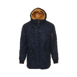 Sandro  Navy coat from Bicester Village