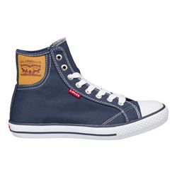 Zapatilla alta denim