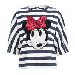 Striped Minnie T-shirt
