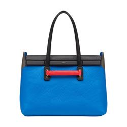 Furla Blue and Onyx Supernova Tote from Bicester Village