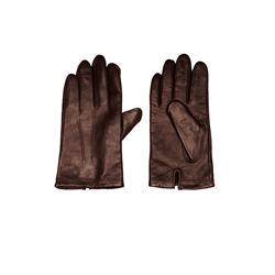 Charles Tyrwhitt  Brown leather gloves from Bicester Village