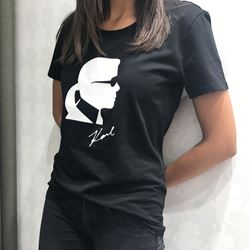 T-Shirt in black/white by Karl lagerfeld at Ingolstadt village