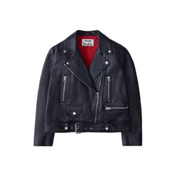 Acne Studios  Merlyn leather jacket from Bicester Village