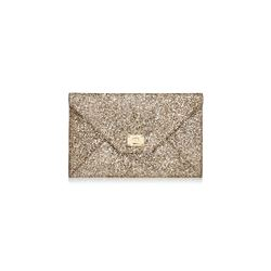 Jimmy Choo Women's Gold Rosetta Clutch Bag