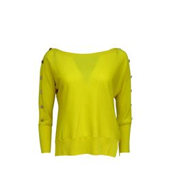 Pullover in yellow by Tara Jarmon at Ingolstadt Village