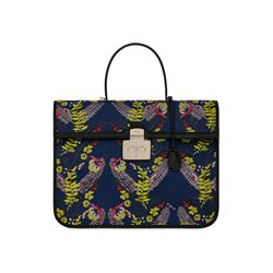 Furla Fenice XL Top Handle in Toni Blu