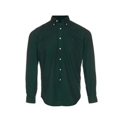 Polo Ralph Lauren Men's green Garment Dye Oxfords Shirt