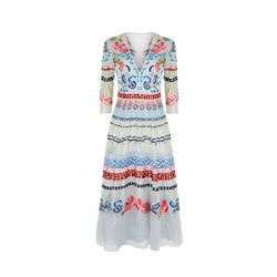 Temperley London  V-neck Aura dress from Bicester Village