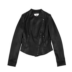 Women's leather jacket by Bally at Wertheim Village