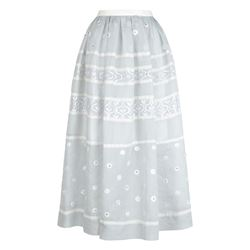 Temperley London Lizette organdy skirt