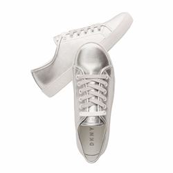 Sasha Metallic Leather Sneaker