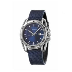 Hour Passion Calvin Klein earth blue dial watch