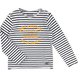 ZADIG&VOLTAIRE Black Stripe Long-sleeve T-Shirt