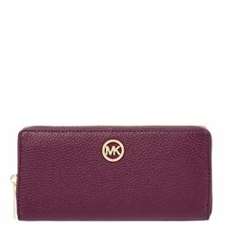 Wallet 'Fulton' in plum by Michael Kors at Wertheim Village