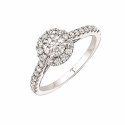 Signet Jewellers Tolkowsky 18ct white gold diamond ring