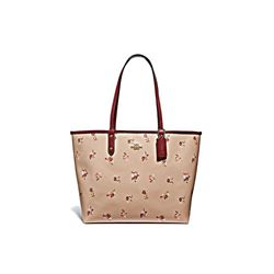 Coach beechwood multi Bouquet Reversible City Tote