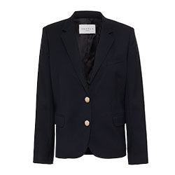 Sandro - Black blazer with gold buttons