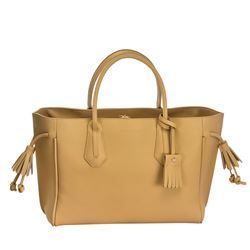 Bag in beige big by Longchamp in Wertheim Village