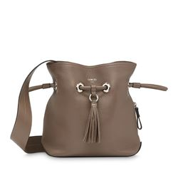 Lancel, Brown bucket bag